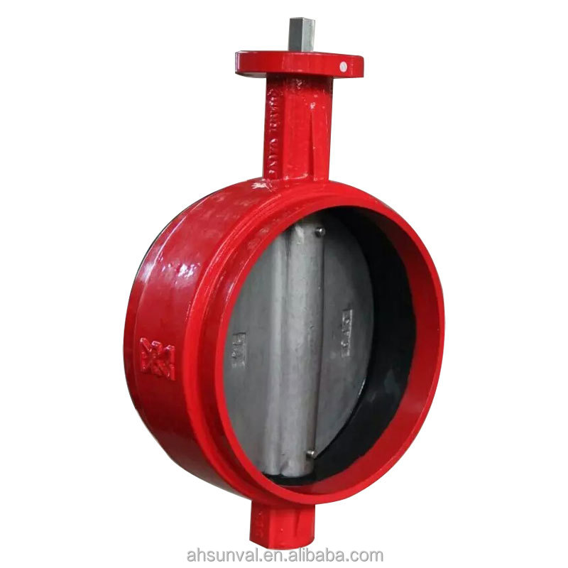 Grooved End Lever Operator Butterfly Valve