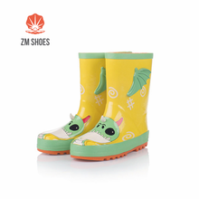Color green walmart rain boots for kids