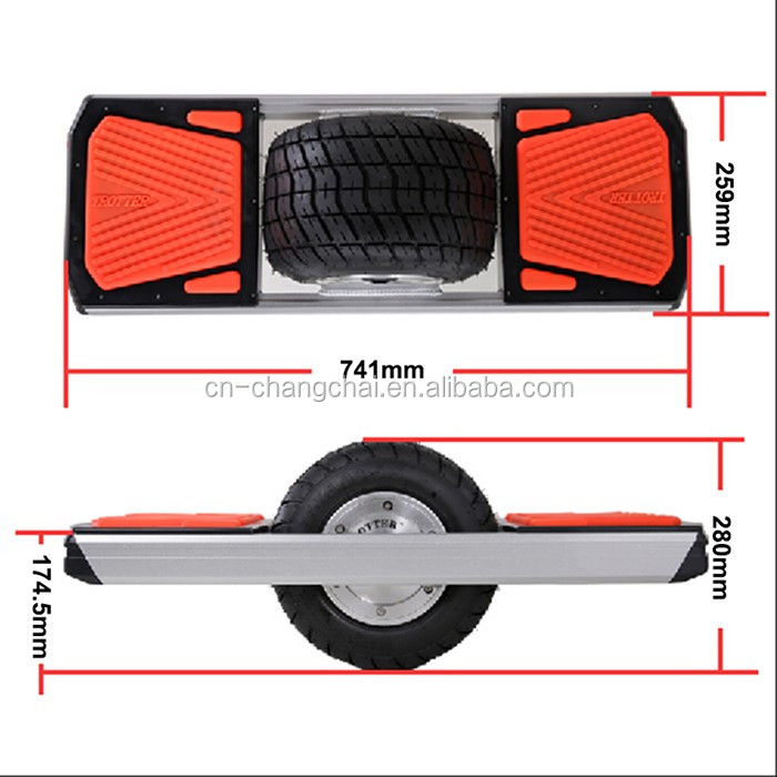 Trotter One Wheel China Free Shipping Electric skate board