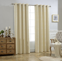 ALLBRIGHT hand made elegant blackout ready made curtain of best sale