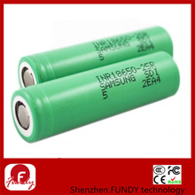 Samsung INR18650 25R 2500mAh 3,7V 20A rechargeable battery for E-cigarettes
