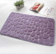 free sample available memory foam bath mat rug carpet