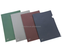 Best prices promotional custom office glossy pp file folder a4 document folder with logo print