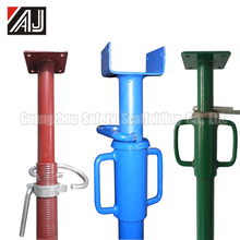 Painted Construction Scaffolding Adjustable Props Jack
