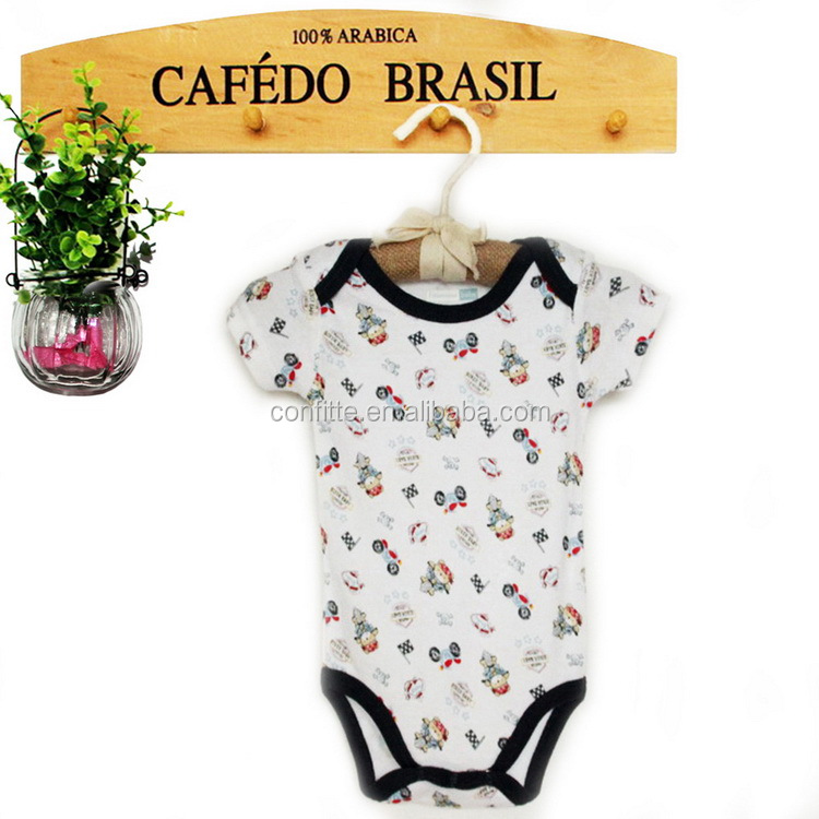 Infant printed baby bio clothing cycling bodysuit bodysuit for weight loss