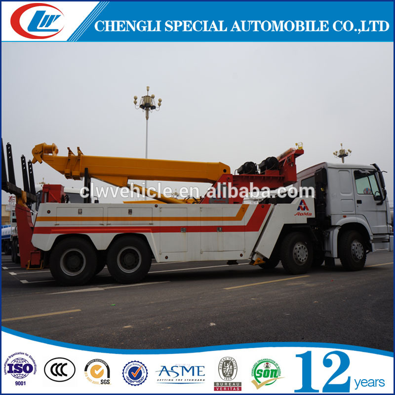 dongfeng 6tons right hand wrecker tow trucks for sale