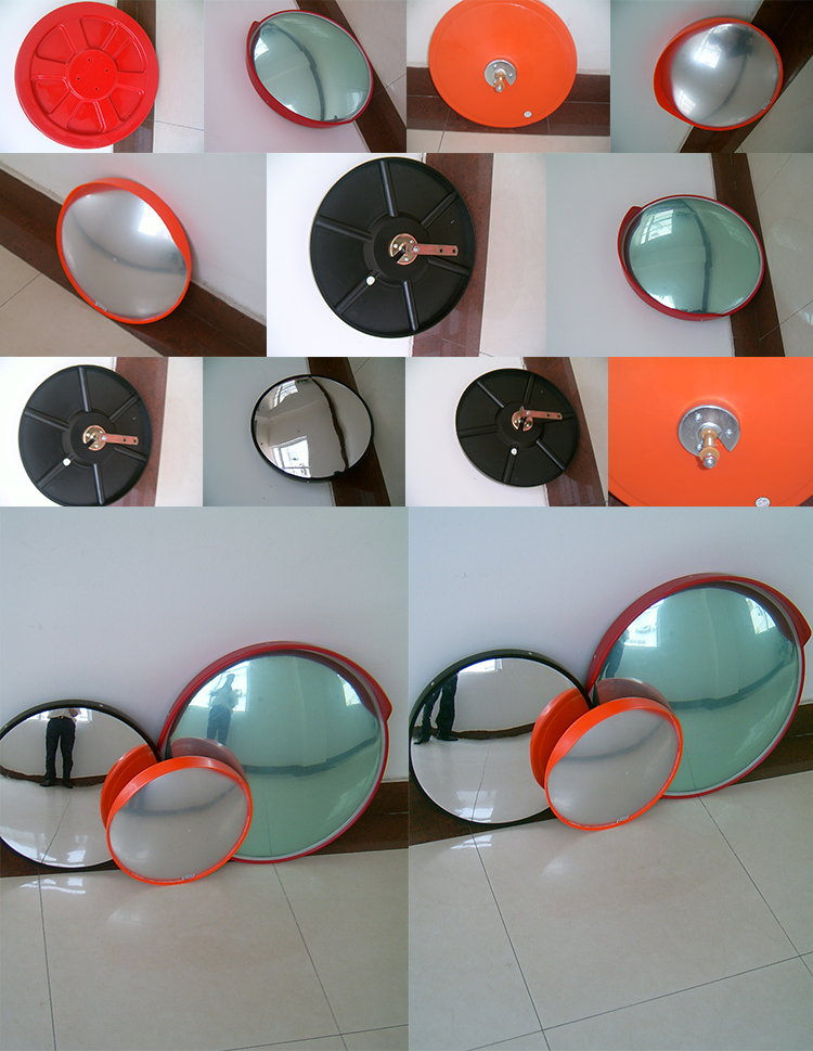 Outdoor traffic convex safety mirror parking garage mirrors