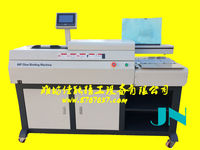 hot melt glue binding equipment glue book binder A3 perfect book glue binding machine