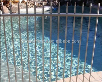 swimming pool fence/ Pool Garden Backyard Fencing /Black Powder Coated Pool Fence factory
