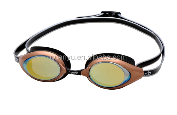 Water-resistant racing motorcross goggles with miror coated lens