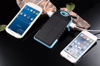 Rohs solar cell phone charger with one year warranty