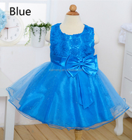 Party wear pattern latest little girls dresses for 2-6 years