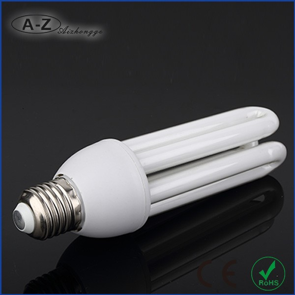 Factory price u tube cfl energy saving light bulb 3u