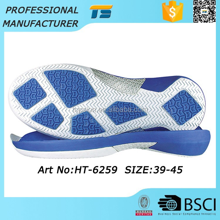 Latest Female Male Running Eva Shoe Extra Sole Material Tpr Phylon Sole