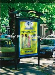Two Sides outdoor led light poster with advertising display for sale