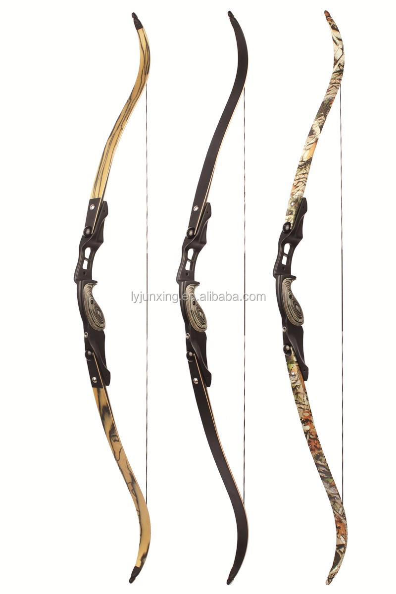 F161 camo Recurve bow maple wood recurve bow for shooting with factory price