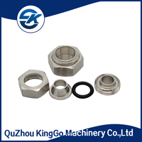 Stainless Steel RJT Hex nut union