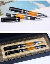Personalized souvenir pens high value brand executive metal ball pen for gift