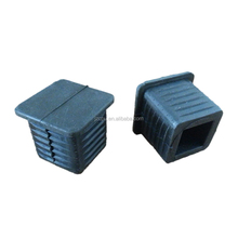 Factory supply rubber feet for square tube