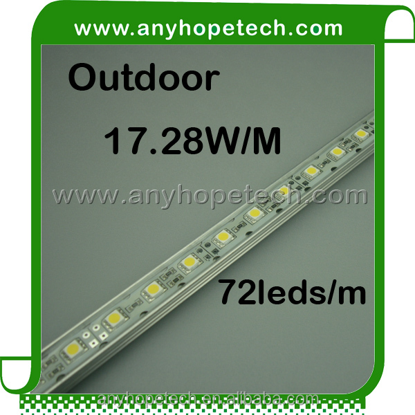 Super quality high light indoor SMD5050 led rigid bar