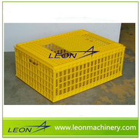 Leon 100% pure PP material folding live chicken cage to transport