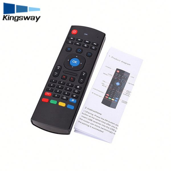 2017 Mini wireless keyboard&fly air mouse as well as MELE F10 ( mele f10 pro )black Remote Controller Kingswway