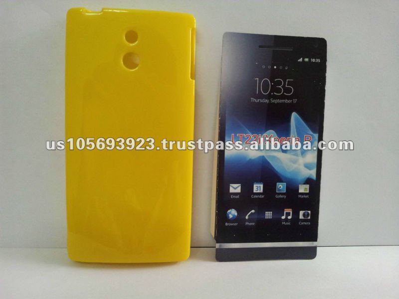 TPU Jelly case for Sony Ericsson Xperia P LT22I