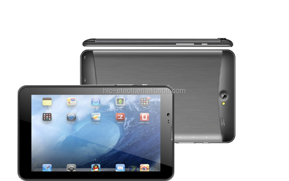 MTK6572 Dual Core 3G phone 7 inch tablet pc with voice call