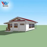 Prefabricated house using eps cement board