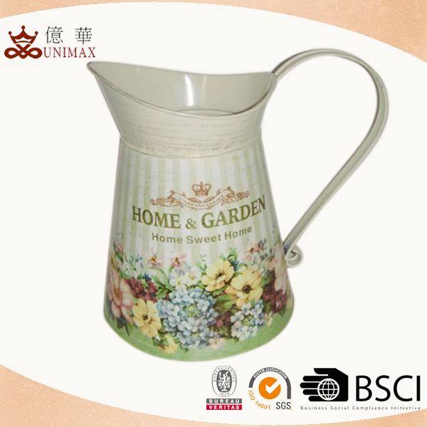 Hot selling high quality cheap antique metal pitchers
