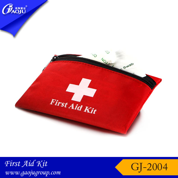 GJ-2004 With 16 years manufacture experience waterproof material small size first aid kit