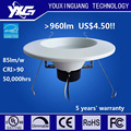 188mm 5/6inch Cut-out AC120V >80lm/w CRI>90 Ra90 Fixed LED Recessed Down light with UL Approved