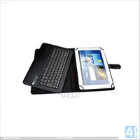 Top seller 9.7 inch bluetooth keyboard leather cases for tablets android/ios/win 7TABKBCASE002