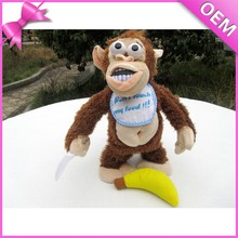 stuffed animal speakers talking stuffed animals repeat what you say talking and walking and talking monkey plush toy