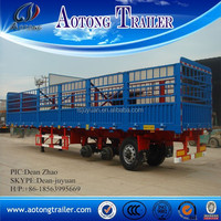 2015 china manufacture livestock trailer, horse trailer for sale