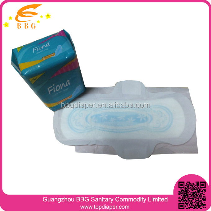 Soft cotton Lady pad for Feminine special period production