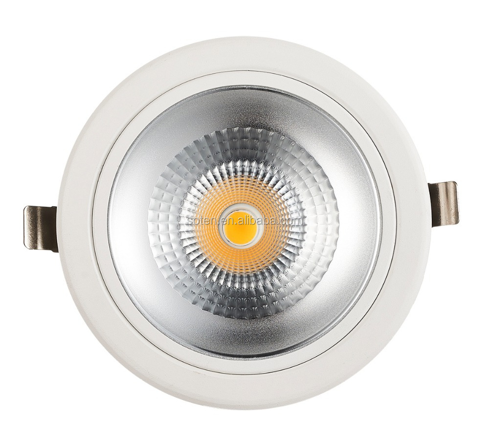 Ultra Bright 40W Round COB LED Down Light housing available