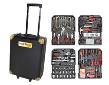 186pcs swiss kraft professional tools line with ratchet spanners in aluminium case LB-444 (tool kit;tool set)