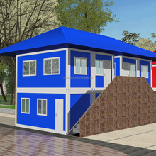 Economical Pack Cargo stackable soundproof multi container house