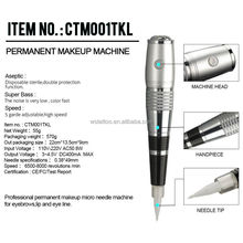 Hot Selling Cheap TKL Permanent Makeup Tattoo Machine Pen Kit