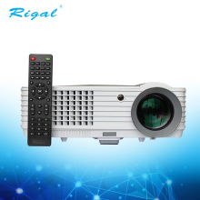 2018 New product support 720P/1080P lcd tv big projector