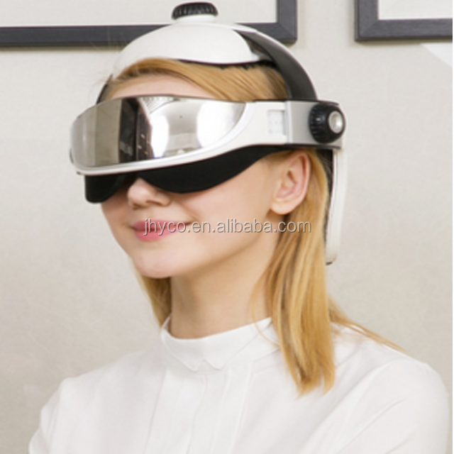 free shipping sample Wireless head massage <strong>device</strong> and electric eye massager instrument helmet