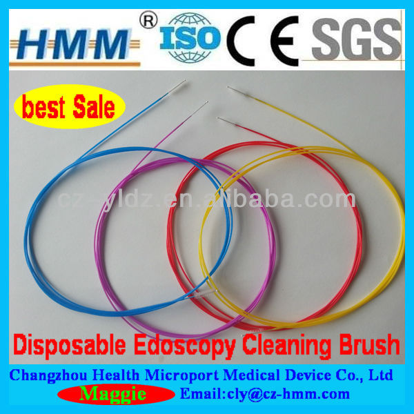 Endoscope Channel Cleaning Brush of Disposable Medical Devices