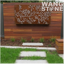 Corten Steel Laser Cut Metal Craft Designs Wall Decors