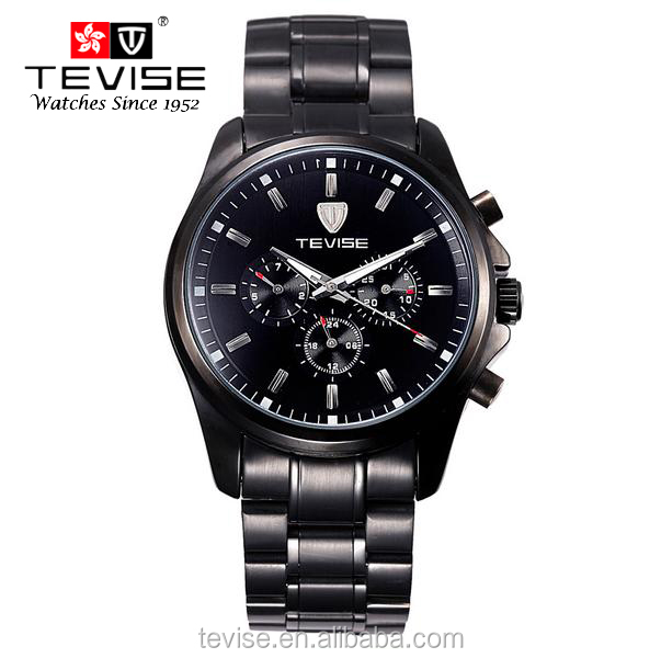 2016 Best Selling Automatic Mechanical Luxury Skeleton Wrist Watch for Men