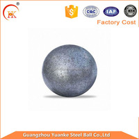 Low price and high impact value cast iron grinding media steel ball