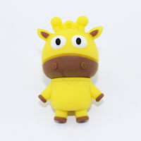 New products 2016 kid 's gift cute cattle shape usb drive strobe external hard drive bulk cheap usb flash drives