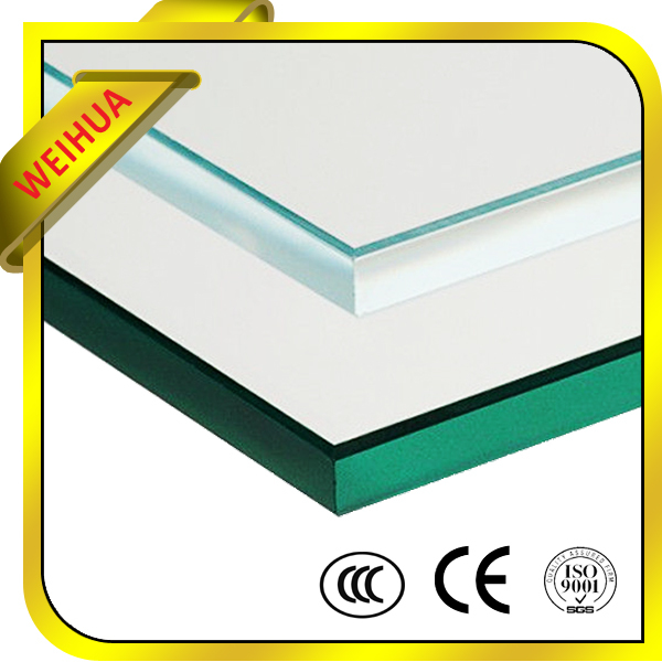 10mm Thick Clear tempered glass canopy For Building With CE Certificate