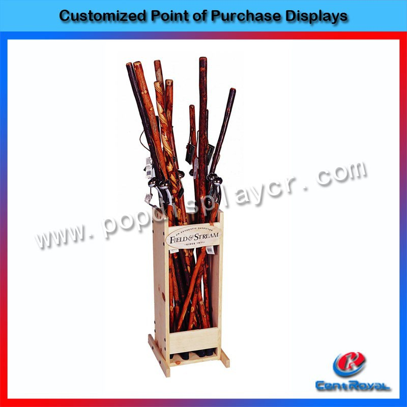 Wholesale supermarket cheap wooden cube shelf