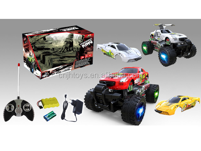 New Car Toys For Boys : New arrival wheeled remote control rc stunt car